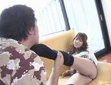 Iori Shiina Asian model has sweet hairy pussy picture 6