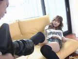 Iori Shiina Asian model has sweet hairy pussy
