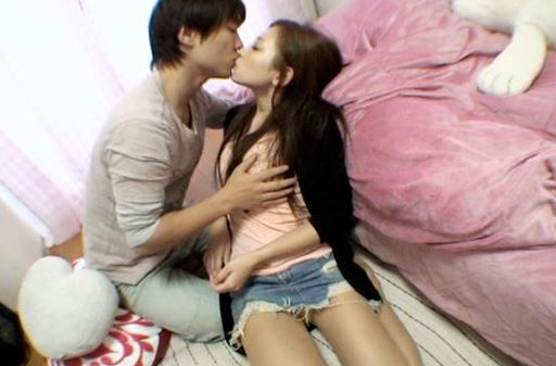 Nice Asian babe gets a good hard fuck by a horny guy.