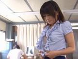 Teen Kyoka Mizusawa Gets Fucked Hard In An Office