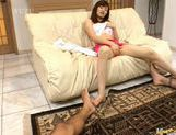 Aika Anzai gives a teasing show masturbating with toys picture 4