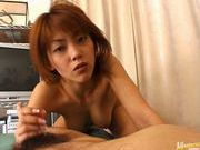 Sakura Sakurada gets cum on her tits!