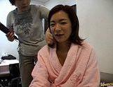 Madoka Matsuba masturbation and cock sucking picture 11