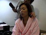 Madoka Matsuba masturbation and cock sucking picture 12