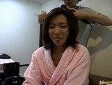 Madoka Matsuba masturbation and cock sucking