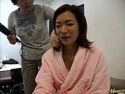 Madoka Matsuba masturbation and cock sucking