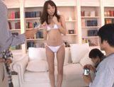 Alice Miyuki Pretty Asian babe is a sexy TV model picture 12