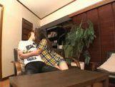Michiru Kobayashi Gives A Footjob, Blowjob And Rimjob