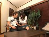 Michiru Kobayashi Gives A Footjob, Blowjob And Rimjob picture 3