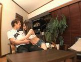 Michiru Kobayashi Gives A Footjob, Blowjob And Rimjob picture 5