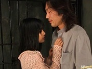 Nice assed Rei Amami fucks and licks in prison.