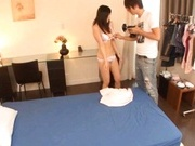 Busty little princess Nana Ogura suck rod & gets her pussy drilled
