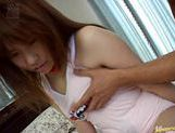 Busty Teen Hikaru Hinata Has Her Pink Pussy Pounded