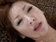 Kinky Asian babe gets a nice facialasian girls, asian pussy}
