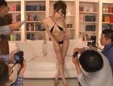 Alice Miyuki Pretty Asian babe is a TV model picture 5