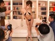 Alice Miyuki Pretty Asian babe is a TV model