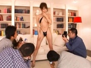 Alice Miyuki Pretty Asian babe is a TV model