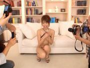 Alice Miyuki Pretty Asian babe is a TV modeljapanese porn, japanese sex}