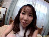 Chisato Hirai kinky handjob picture 15