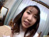 Chisato Hirai kinky handjob