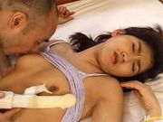 Rumi Kawasaki gets a hard workout for her sweet pussy