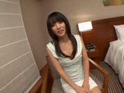 Hikaru Yuki's Oiled Up And Masturbates With Vibrators