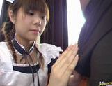 Sexy Natsumi with hardcore action and cum on boobs picture 6