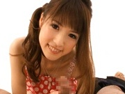 Sweet Japanese teen model is lovely