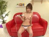 Eri Ouka Asian babe is masturbating