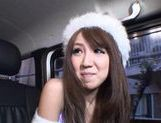 Rion Ogura Opens Her Legs In A Car For Some Toy Sex picture 3