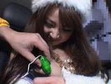 Rion Ogura Opens Her Legs In A Car For Some Toy Sex picture 9