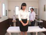 Beautiful oiled Asian teen Rino Nanse enjoys rear banging