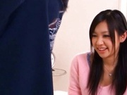 Schoolgirl Nana Ogura Helps Herself To A Hard Cock