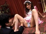 Ina Katori sexy maid hot fuck!