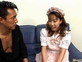 Chisato Hirai hot maid sex picture 3