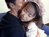 Chisato Hirai hot maid sex picture 9