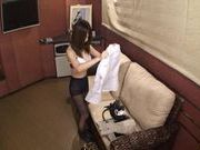Yuri Kousaka Opens Up For A Creampie In A Threesome