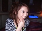 Milf hottie Shiho Kanou fucks and sucks an older guy