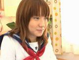Horny Alice Ozawa fucking in school clothes! picture 3