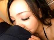 Asian Cougar Sasaki Eating Man Meat