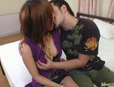 Sweet Asian milf Arisa Minami shows how to fuck and suck. picture 12