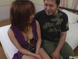 Sweet Asian milf Arisa Minami shows how to fuck and suck. picture 5