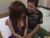 Sweet Asian milf Arisa Minami shows how to fuck and suck. picture 6