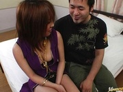 Sweet Asian milf Arisa Minami shows how to fuck and suck.
