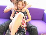 Sally Yoshino in pigtails receiving creampie picture 7