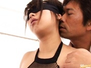 Bunko Kanazawa deep throat, hard sex and hot facial