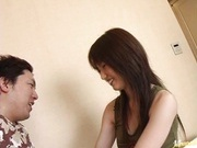 Haruki Tohno Asian babe gets a facial