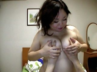 Japanese AV Model hot mature chubby chick gets fucked hard