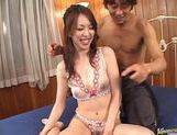 Hot milf Tomoe Hinatsu gets cum splattered picture 7