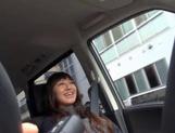 Beautiful Amateur MILF Gets Fucked Deep In A Car